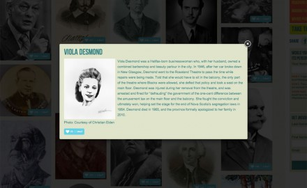 Black History Portrait of Viola Desmond Featured On Canadian Museum of Civilization Website