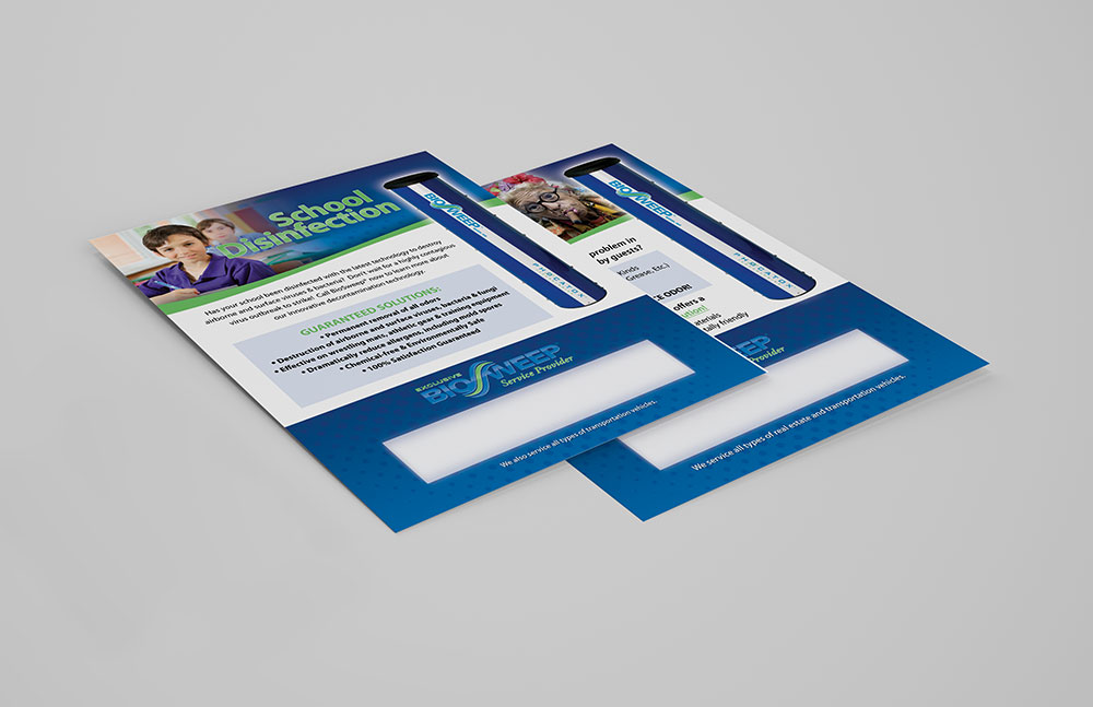 Flyer Design for BioSweep | Elden Creative Group