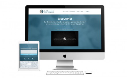 ECG Launches New Responsive Website for Gazall Investment & Wealth Management