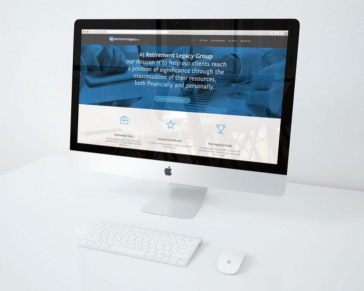 RetirementLegacy.com Redesign