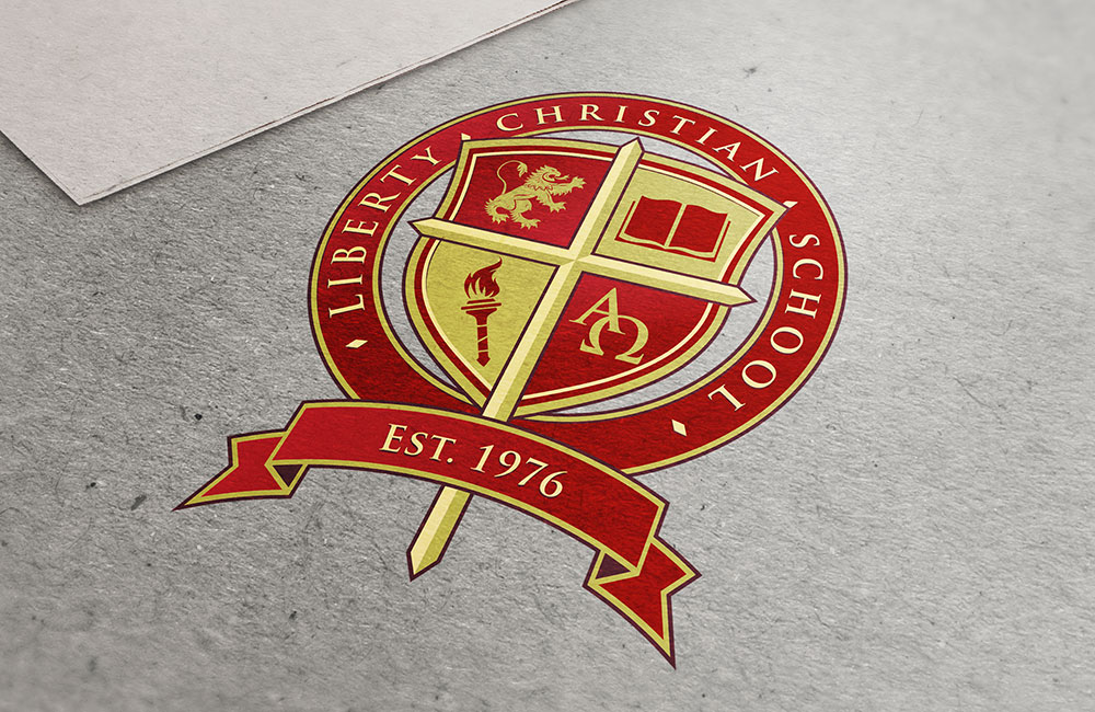 Liberty Christian School Anderson Logo Design | Elden Creative Group