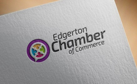 ECG Unveils New Logo for Edgerton Chamber of Commerce
