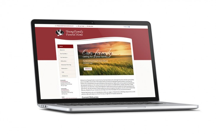 ECG Teams Up to Redesign Funeral Home Website