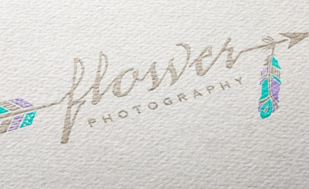 ECG Redesigns Logo for Flower Photography