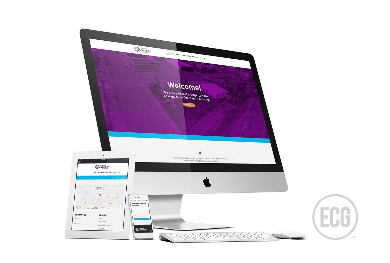 Edgerton Chamber of Commerce New Website   Elden Creative Group