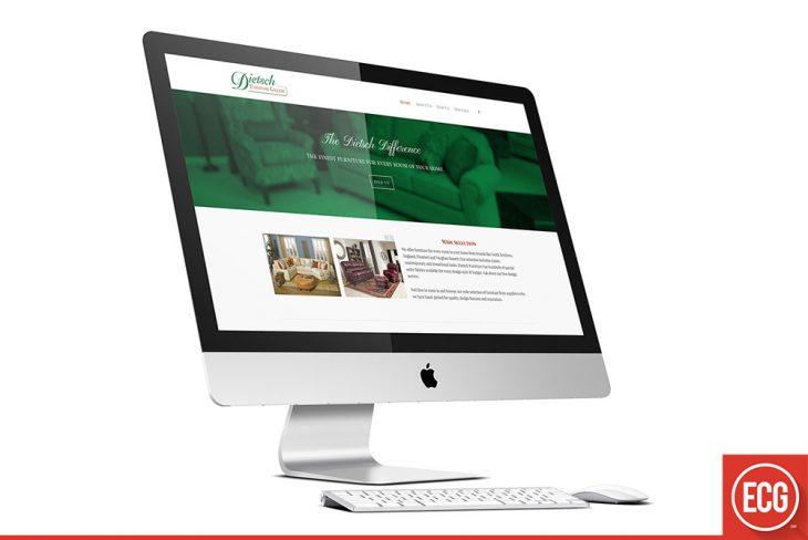 Dietsch Furniture Website Redesign