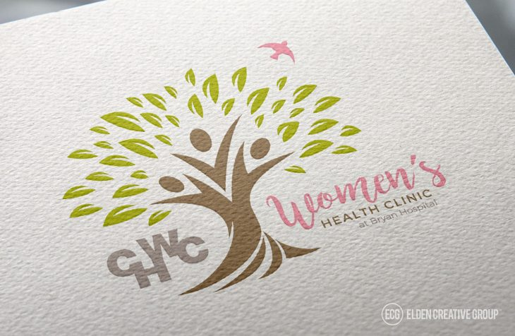 CHWC Women's Health Clinic Logo Design