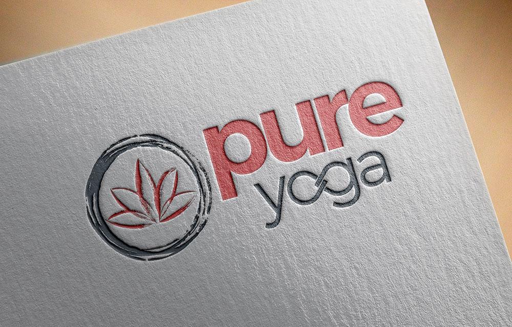 Pure Yoga Re-Brand