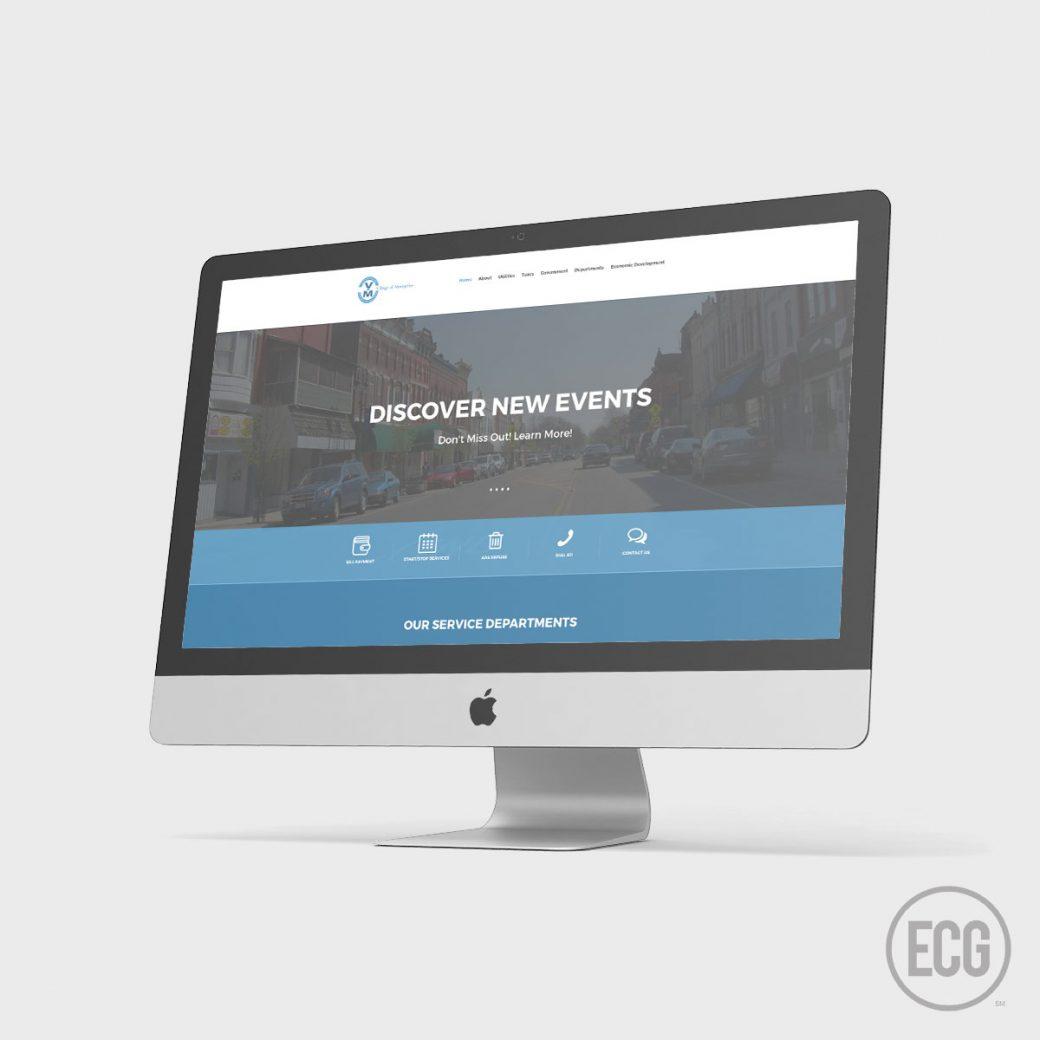Village of Montpelier Website Redesign